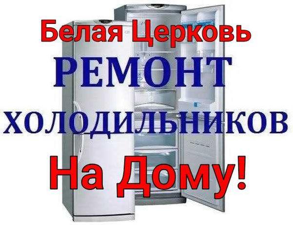Ремонт холодильника на дому! Белая Церковь область.