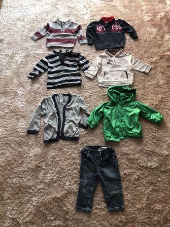 Camisolas, casaco, calças 6 meses
