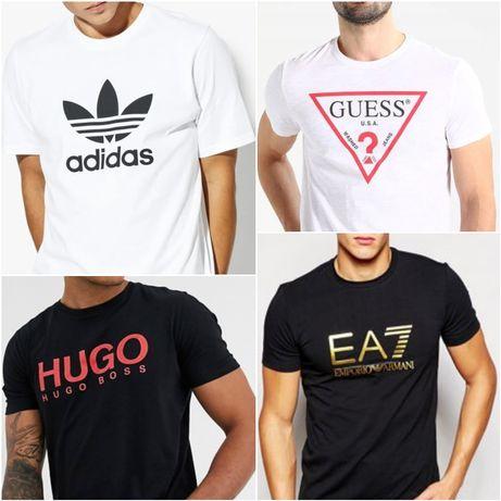 Koszulki Adidas Guess Hugo Boss Armani Tommy Levi's Calvin Klein cK