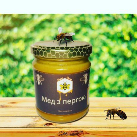 Мед з пергою
