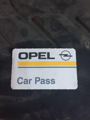 odczyt kodu pin diagnostyka Opel Car pass
