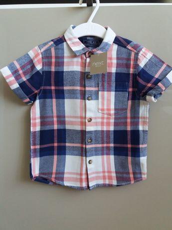 Новая рубашка next некст для мальчика 2-3, 98 см