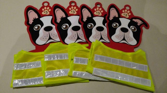 4 Coletes Refletores para Cães