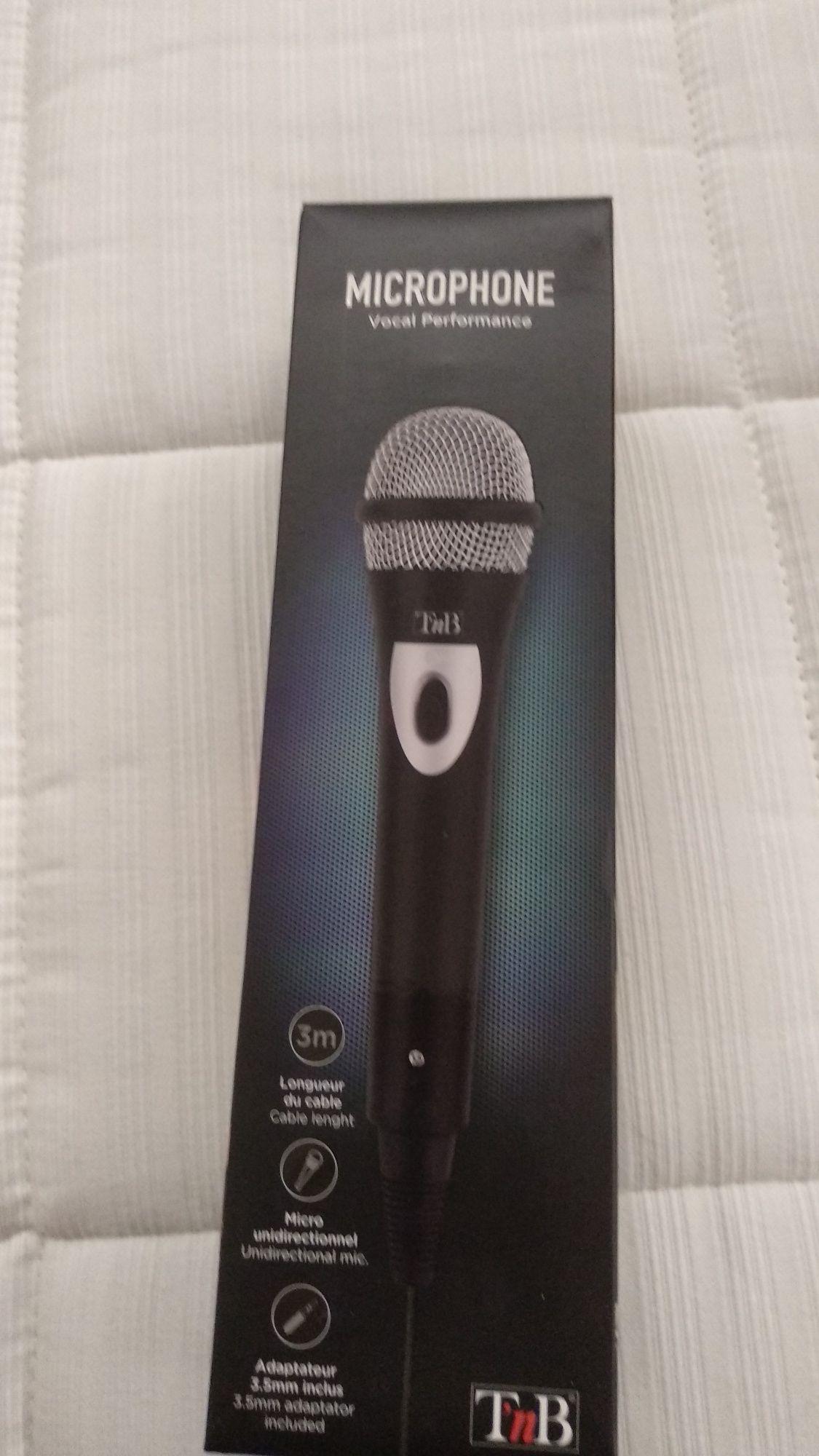 Microfone T'nB novo
