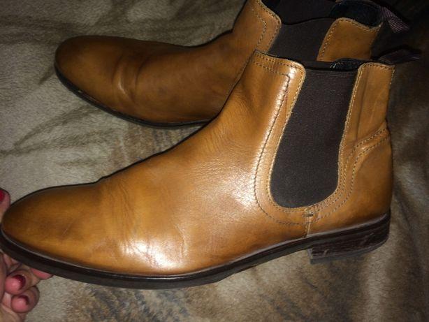Челси ботинки кожаные деми 31 см
