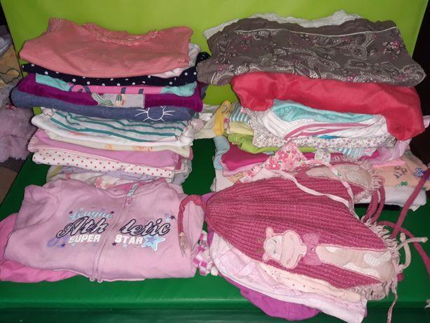 ubrania dla dziewczynki 12 mies., rozmiar 80