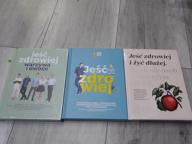 Jeść zdrowiej zestaw 3 książek