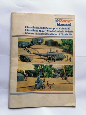 Roco Minitanks HO 2 catálogos