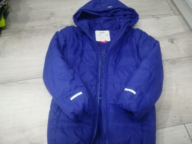 Zimowa kurtka dla dziewczynki 128, Endo