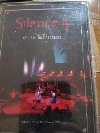 CD Silence 4 ao vivo Coliseu