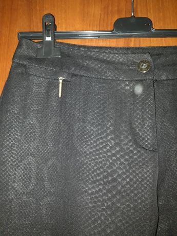 MOHITO spodnie cygaretki wzór węża snake 38 M