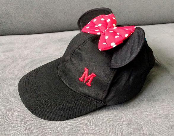 Czapka Myszka Miki z kokardą ROZMIAR 54 dla dziewczynki
