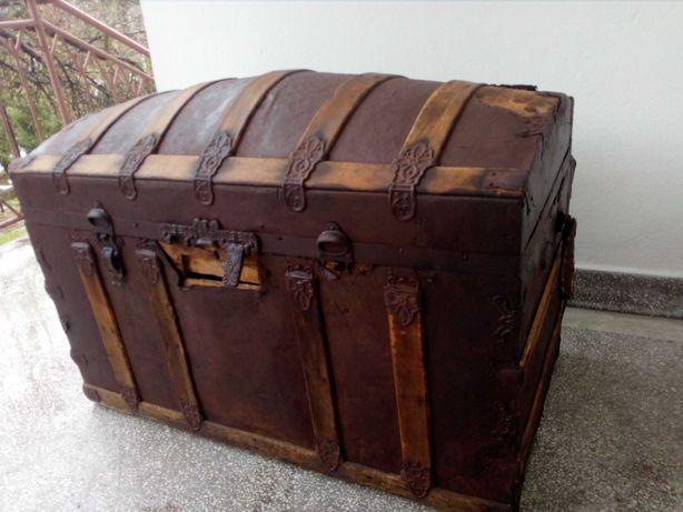 Antyki kufry amerykańskie