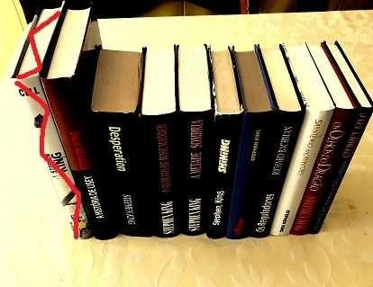 Stephen King - Livros USADOS em bom estado