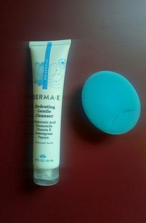 Derma E набор гель для умывания и щеточка Cerave мицеллярная вода 295