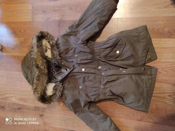 Zimowa kurtka kurteczka