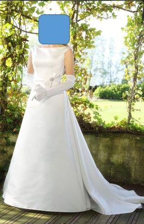 Suknia ślubna, rozmiar 36/38, wzrost ok. 170 cm