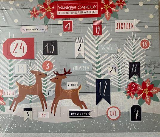 Yankee candle świece zapachowe nowy kalendarz