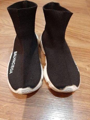 Детские текстильные кроссовки-чулки Balhnciega