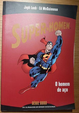 """Livro """"Super-Homem: O Homem de Aço"""""""