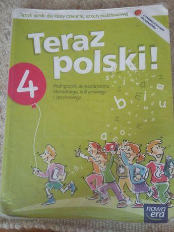 Teraz polski! 4, podręcznik dla czwartej klasy szkoły podstawowej