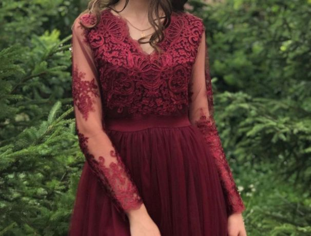 Сукня (вечірня/випускна/для дружки)/випускне плаття