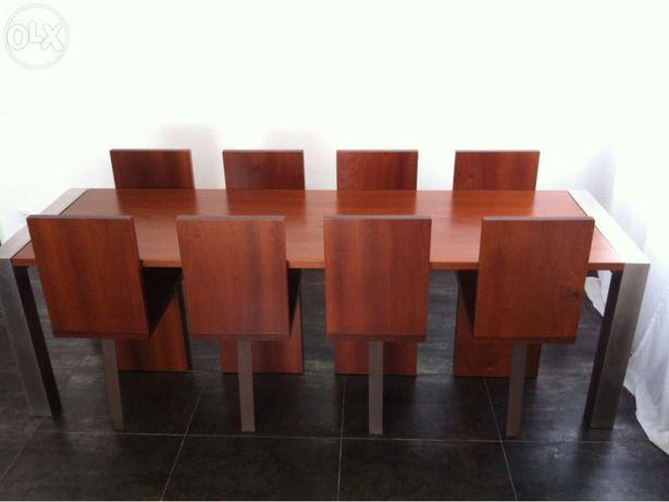 Sala de Jantar - mesa e cadeiras - design de autor e assinadas