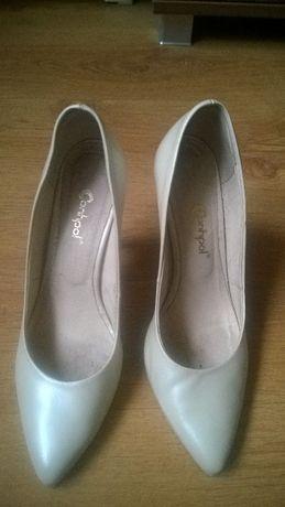 buty ślubne Conhpol, skóra naturalna, 37, klasyka