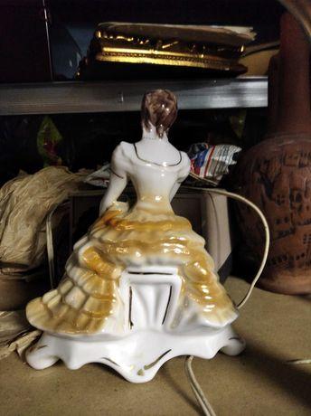 Tancerka figurka porcelanowa