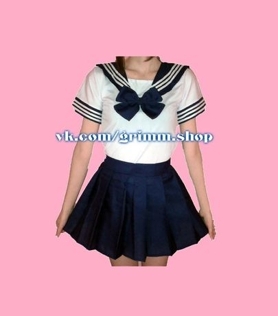 Школьная японская форма S , M и L косплей костюм