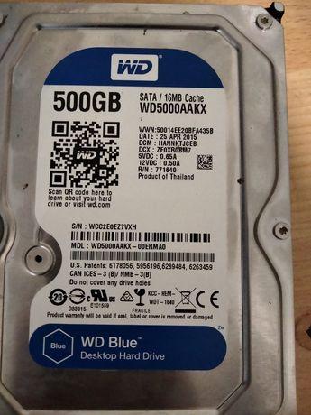 Жорсткий диск 500g wd