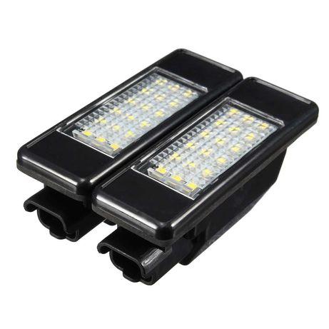ТЮНІНГ LED освещение подсветка номера Peugeot CITROEN