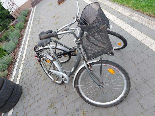 Rower 2 sztuki cena też za 2 sztuki mało używane