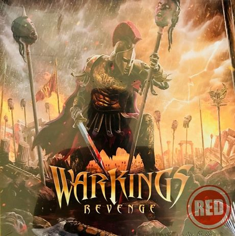 Пластинка Warkings ‎– Revenge, LP, Album, Red, S/S