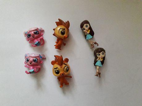 Littlest Pet Shop Hasbro Polaris figurki soczki z Biedronki