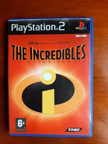 The Incredibles Os Super-Heróis playstation 2