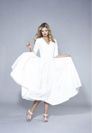 Suknia ślubna rozmiar S 36, sukienka na wesele chrzciny
