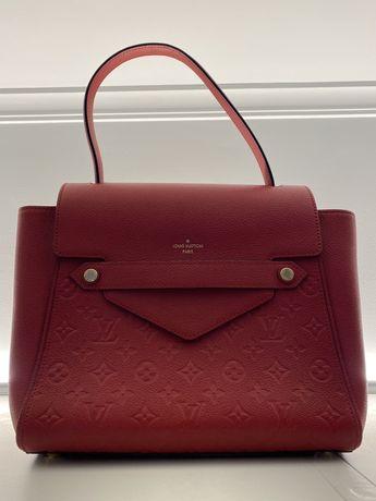 Louis Vuitton red trocadero shoulder bag