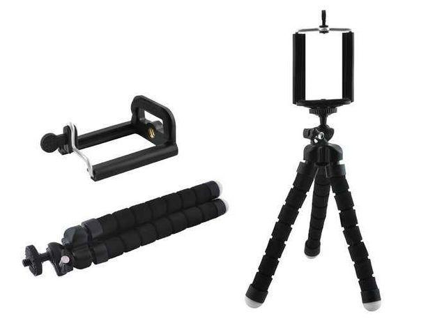 Mini Tripe com suporte para telemóveis e cameras 17cm 3877