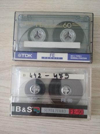 Kasety magnetofonowe 60 min i 90min BASF TDK