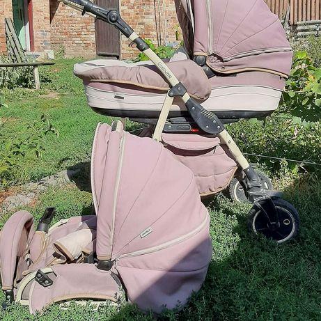 Продам коляску трансформер зима лето недорого.