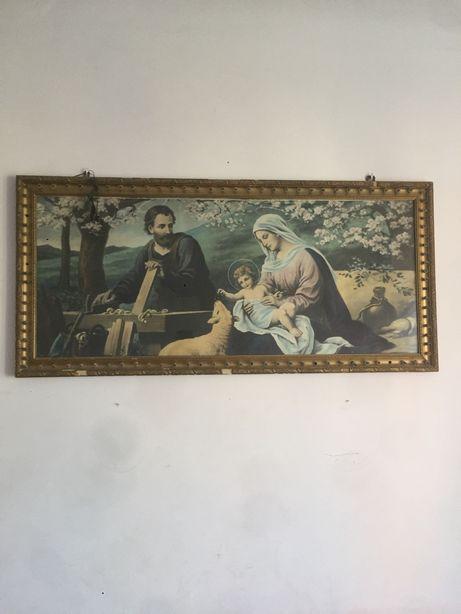 Obraz Maryi z Józefem i dzieciątkiem