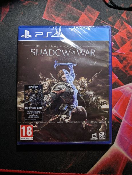 Middle-earth: Shadow of War Novo