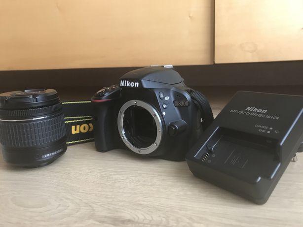 Nikon D3300 + AF-P 18-55mm + Bolsa