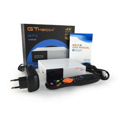 Tv Box - GTMedia GTC - DVB S2/T2/C