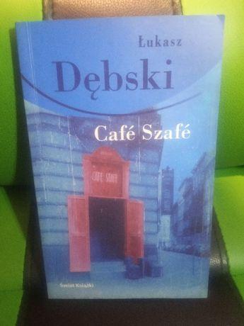 Książa Cafe Szafe - Łukasz Dębski Okazja tanio Prezent na Wielkanoc