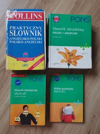 Słownik obrazkowy Pons, zestaw do nauki angielskiego