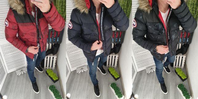 Мужская куртка North River ОСЕНЬ-ЗИМА тёплая чоловіча парка пуховик
