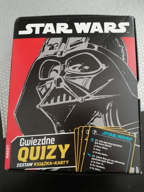 Star Wars karty + książka