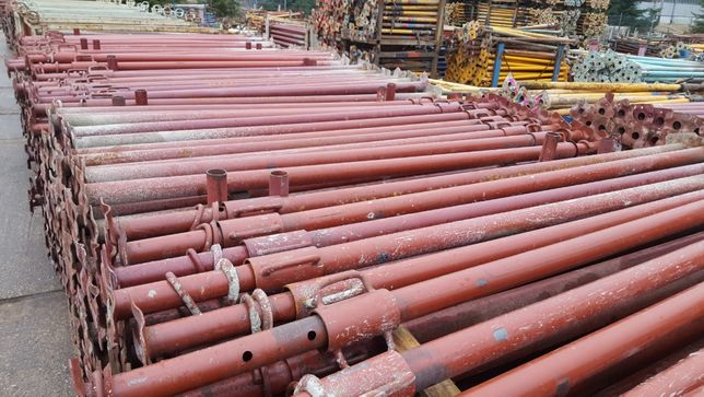 Podpory budowlane stemple metalowe dźwigar Doki szalunki Rusztowanie